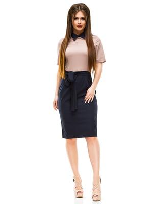 Платье двухцветное | 4613550