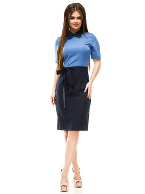 Сукня двоколірна | 4613551