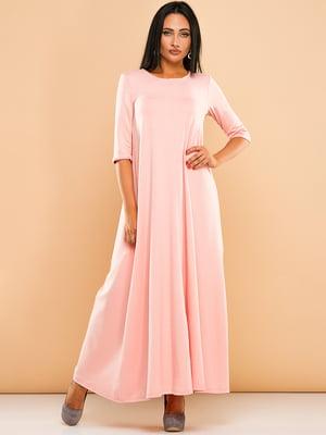Платье цвета пудры | 4613598