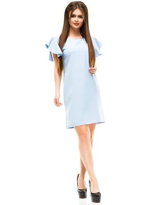 Платье голубое | 4613697