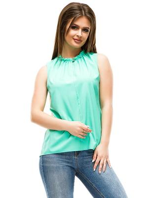 Блуза мятного цвета | 4613708