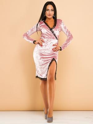 Сукня кольору пудри | 4613765