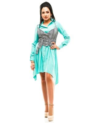 Сукня м'ятного кольору   4613796