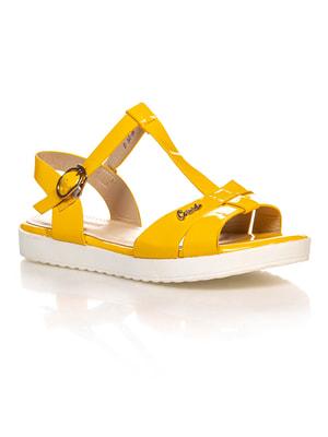 Сандалии желтые   4605219