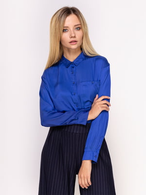 Рубашка ярко-синяя   4562084