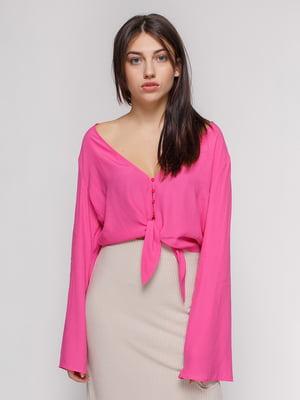 Блуза рожева | 4562122