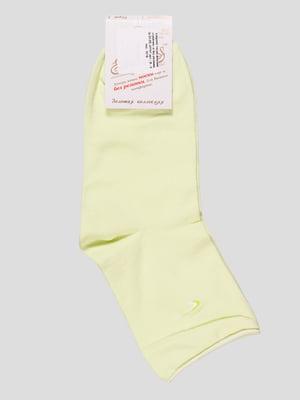 Носки лаймового цвета | 4230473