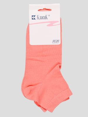 Носки коралловые | 3576426