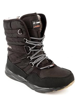 Ботинки черные   4615101