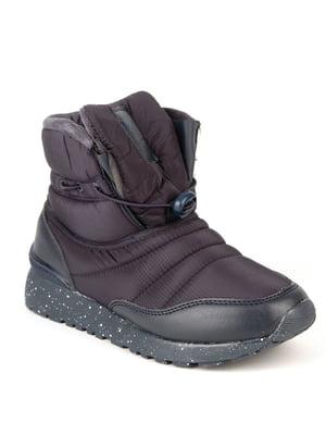 Ботинки синие | 4615110