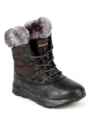 Ботинки черные   4615120