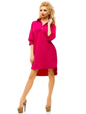 Платье малинового цвета | 4615591