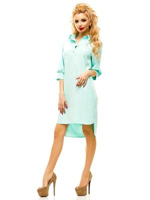 Платье мятного цвета   4615592