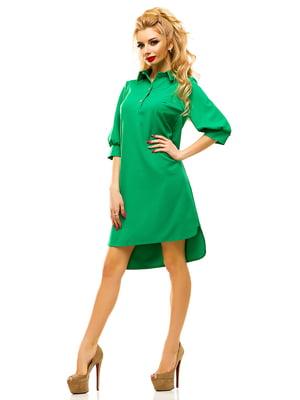 Платье зеленое | 4615593