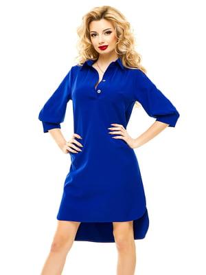 Платье цвета электрик | 4615595