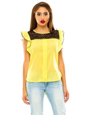 Блуза желтая | 4615621