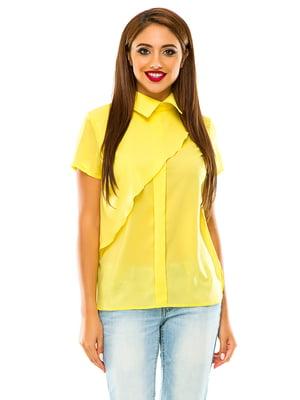 Блуза желтая | 4615623