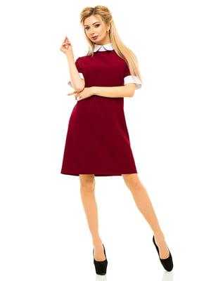 Сукня бордова   4615672
