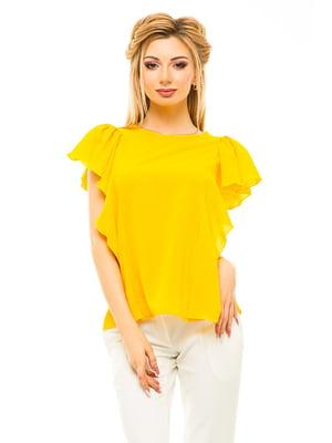 Блуза желтая | 4615677