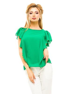 Блуза зелена | 4615678
