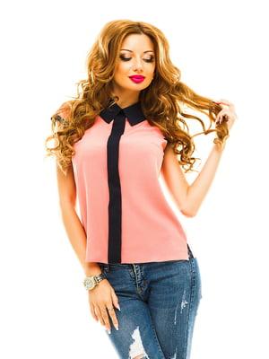 Блуза персикового цвета | 4615768