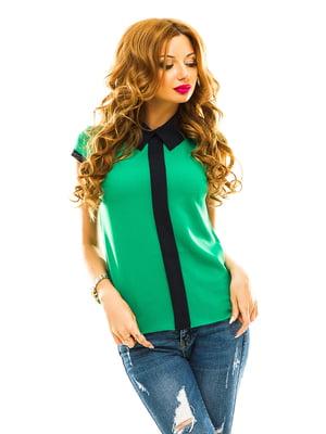Блуза зеленая | 4615785