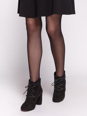 Ботинки черные | 4602525