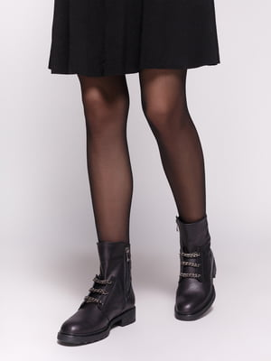 Ботинки черные | 4602521