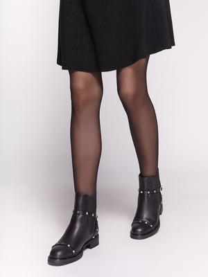 Ботинки черные | 4602522