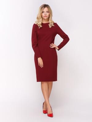 Сукня бордова | 4459273