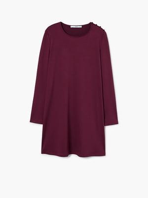 Платье бордовое | 4529663