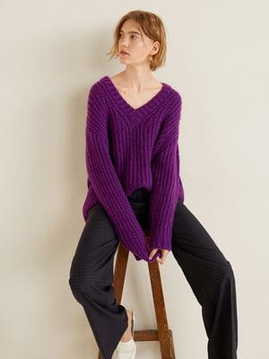 Пуловер фіолетовий | 4549146