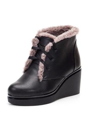 Ботинки черные | 4599422