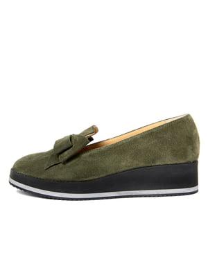 Туфли цвета хаки | 4621011