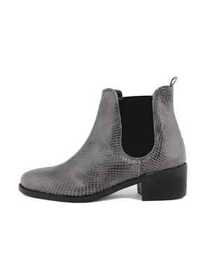 Ботинки серые | 4621017