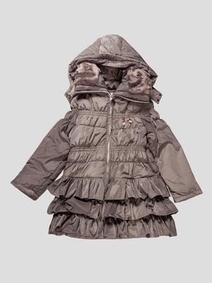Пальто сіре | 4606842