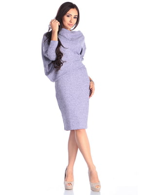 Платье сиреневое | 4614796