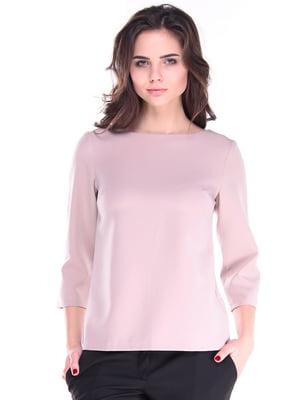 Блуза цвета кофе с молоком | 4619156