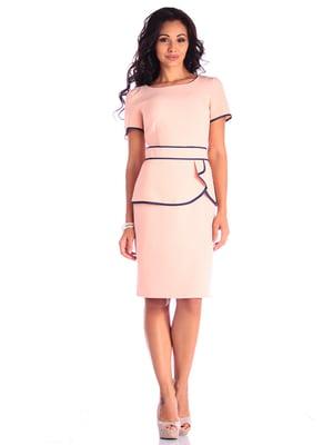 Платье нежно-розовое | 4619212