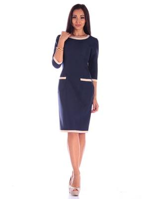 Платье темно-синее | 4619230