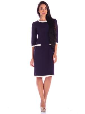 Платье темно-фиолетовое | 4619232