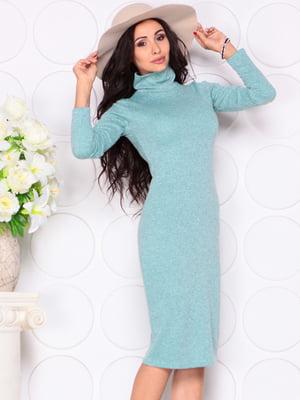 Платье серо-зеленого цвета | 4619293