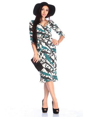 Платье абстрактной расцветки | 4619303