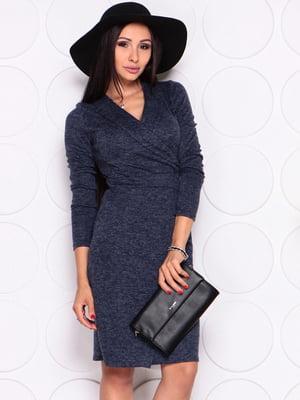 Платье темно-синее | 4619329