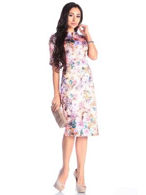 Сукня в квітковий принт | 4619365