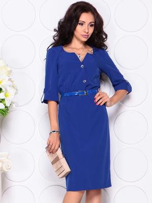 Платье цвета электрик | 4619591