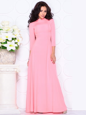 Платье розовое | 4619607