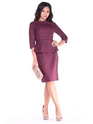 Сукня сливового кольору | 4619745