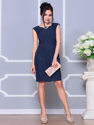 Сукня темно-синя | 4619979