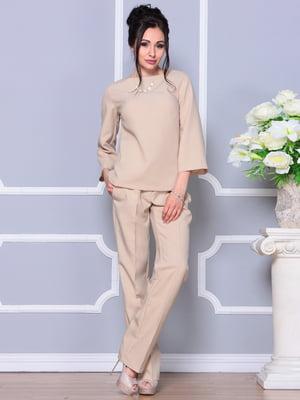 Костюм: блуза і штани | 4620050